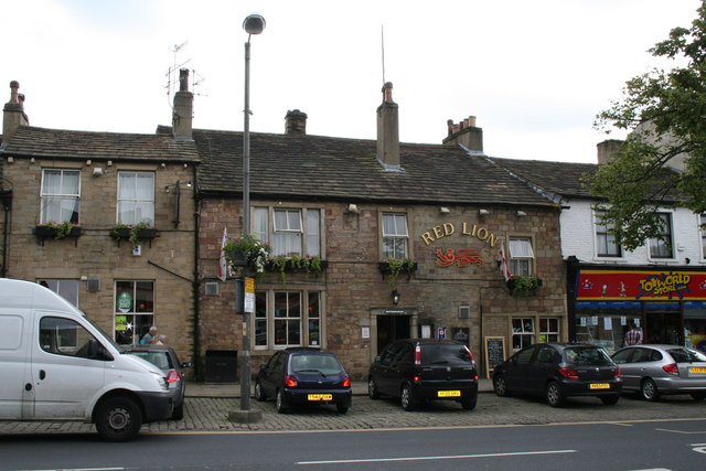 The 'Red Lion', High Street, Skipton, Yorkshire
