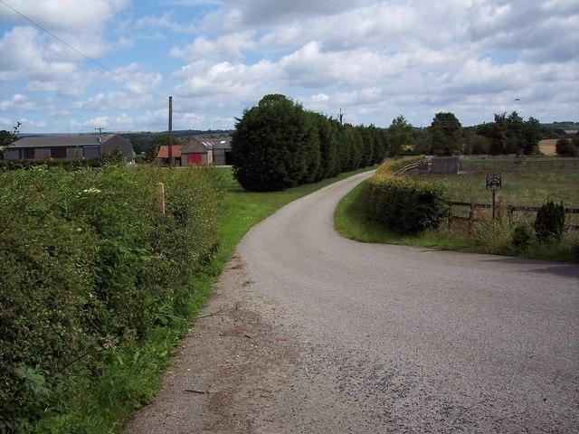 Driveway to Little Edstone Farm