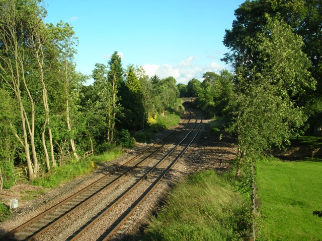 Railway at Tewit Well