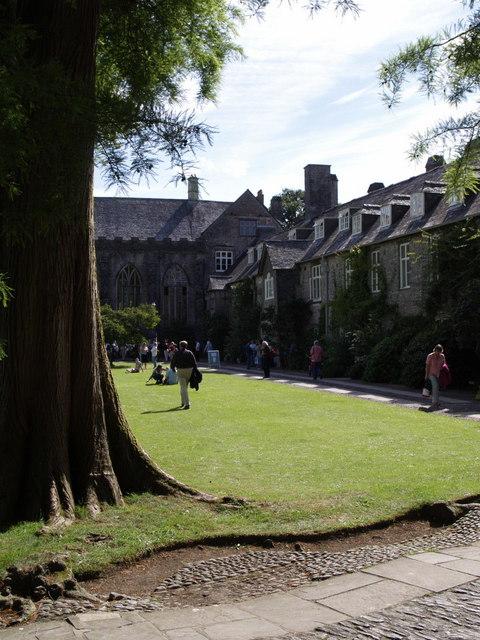 Courtyard, Dartington Hall