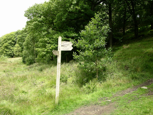 Signpost Redisher Valley