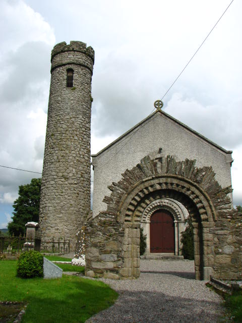 Castledermot monastic remains
