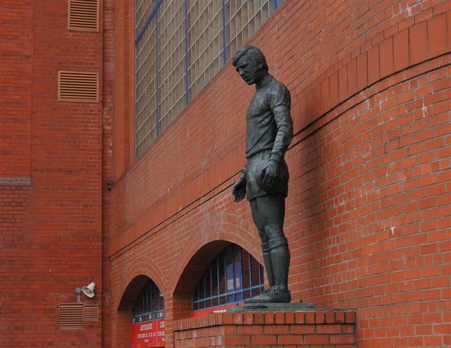 Statue at Ibrox