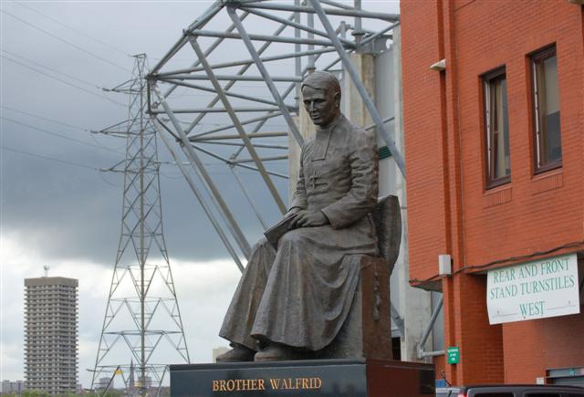 Statue at Celtic Park