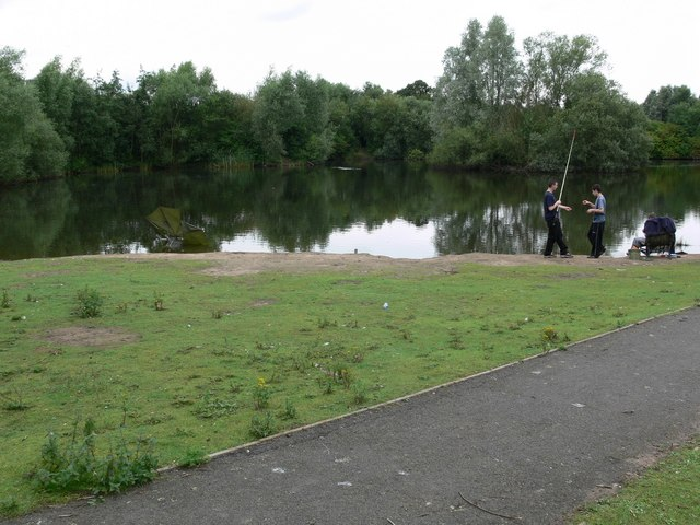 Hamilton Lake. Leicester