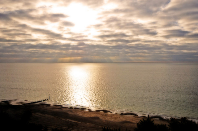Bournemouth sunrise