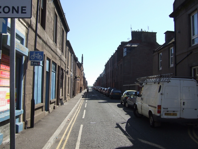 Narrow streets at the 'Fit of the Toon'