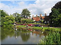 SJ4465 : The Duckpond, Christleton by Sue Adair