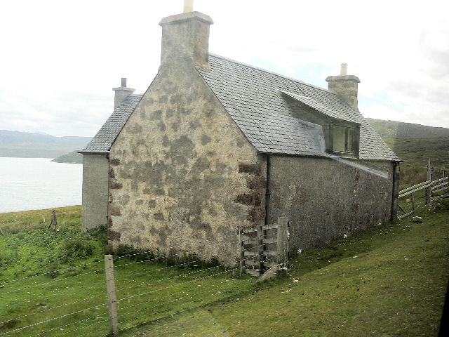 Empty house at Achiemore