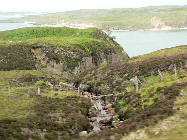 Burn above Kyle of Durness