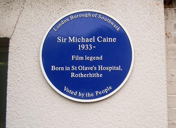 Sir Michael Caine Plaque