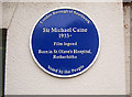 TQ3579 : Sir Michael Caine Plaque by David Lunn