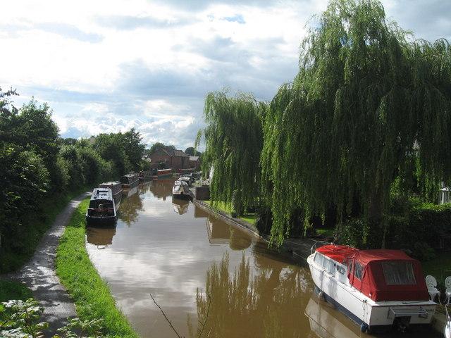Shropshire Union Canal from Rowton Bridge