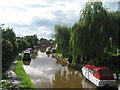 SJ4465 : Shropshire Union Canal from Rowton Bridge by Sue Adair