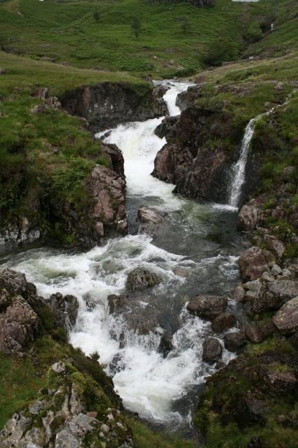 River Esk in Upper Eskdale.