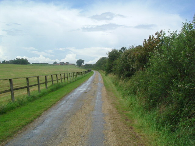 Bridleway to Dean lodge