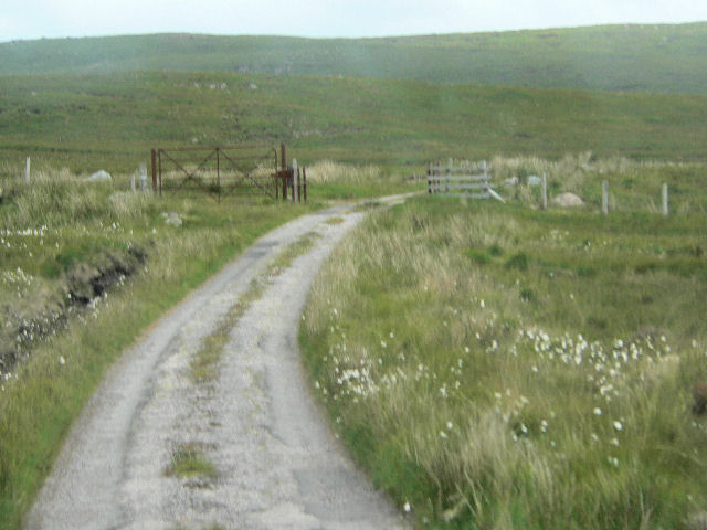 Gate on track to Cape Wrath
