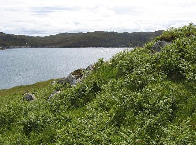 South-western corner of Eilean Chaluim Chille