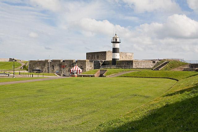 Landward side of Southsea Castle