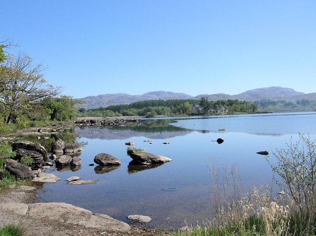 View of Lough Eske