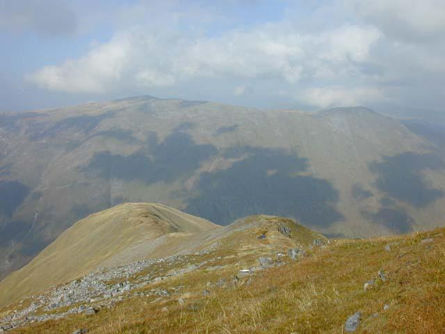 The north ridge of Saileag