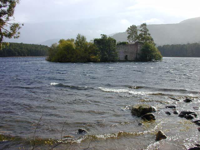 Loch an Eilein and the castle ruin