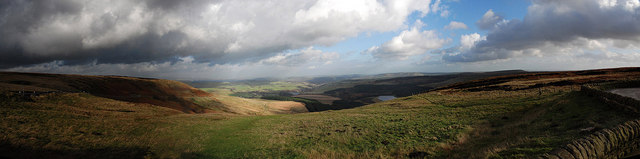 Holme Valley panorama