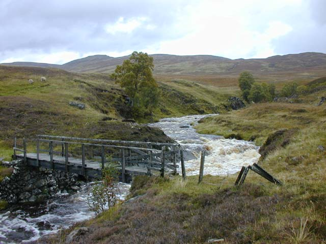 Footbridge over the Feith Talagain