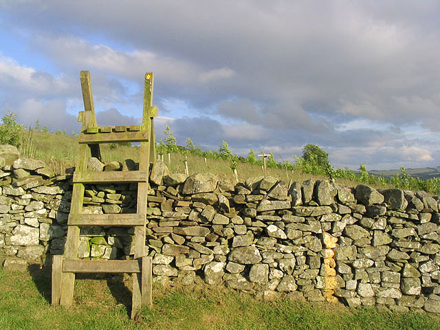 Stile at Galashiels Golf Course