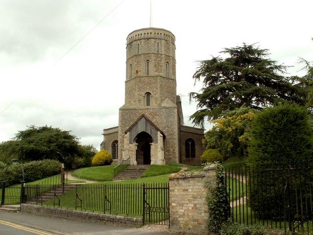 St. Mary's church at Swaffham Prior