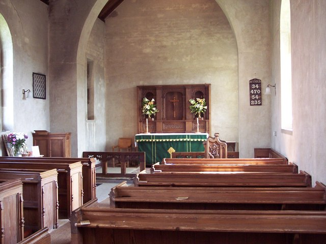 The Church of St Chad, Hutton-le-Hole - Interior