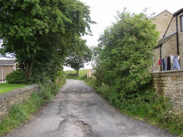 Sykes Lane, Oakenshaw