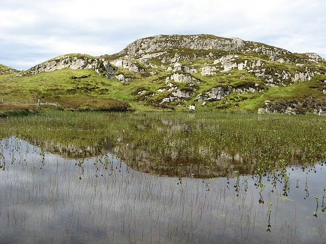 Reflections in a lochan