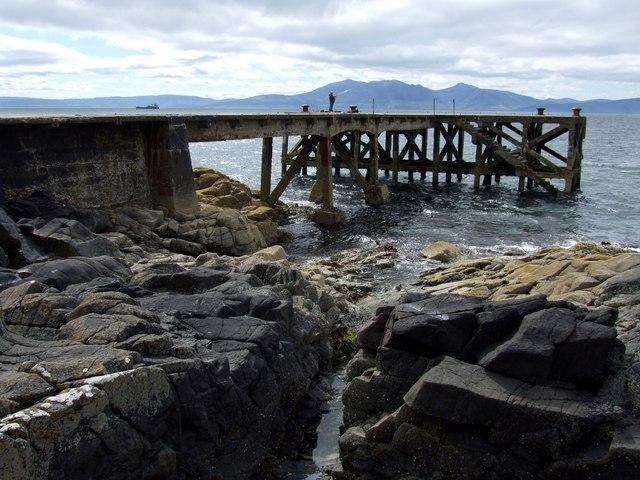Pier at Portencross