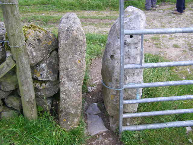 Pinch or squeeze stile