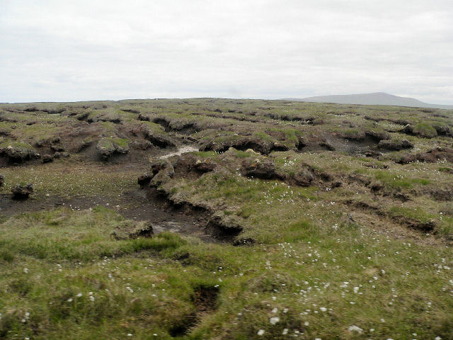 Peat digs on Dunan Mor