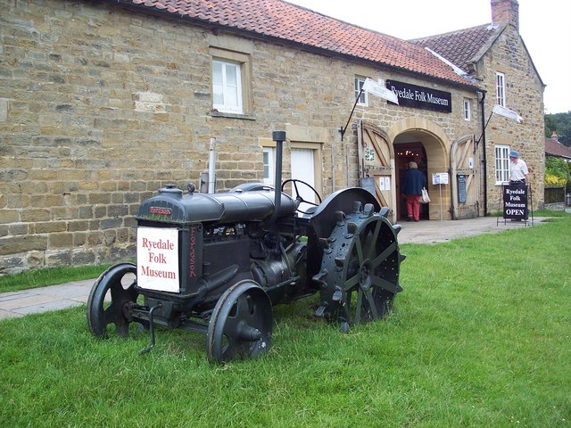 Fordson Tractor and the Ryedale Folk Museum