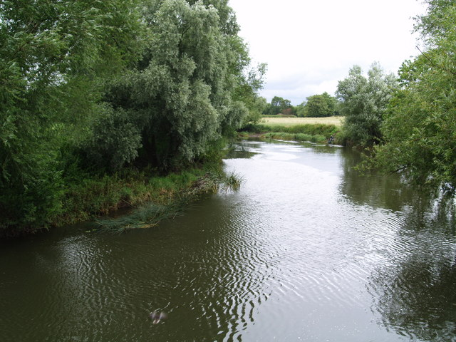 River Avon from Pershore bridge