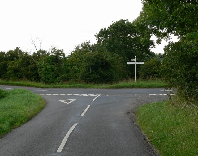 Another view of the road junction