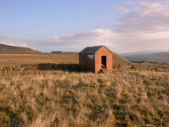 Small building on Park Burn