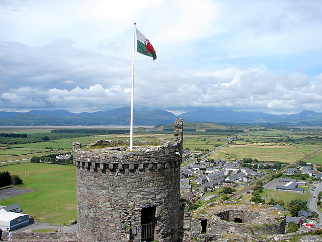 Harlech Castle - The North West Tower