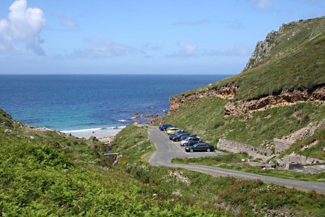 Car Park at Porth Nanven