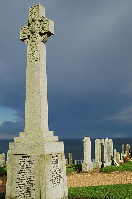 War memorial, St Monans