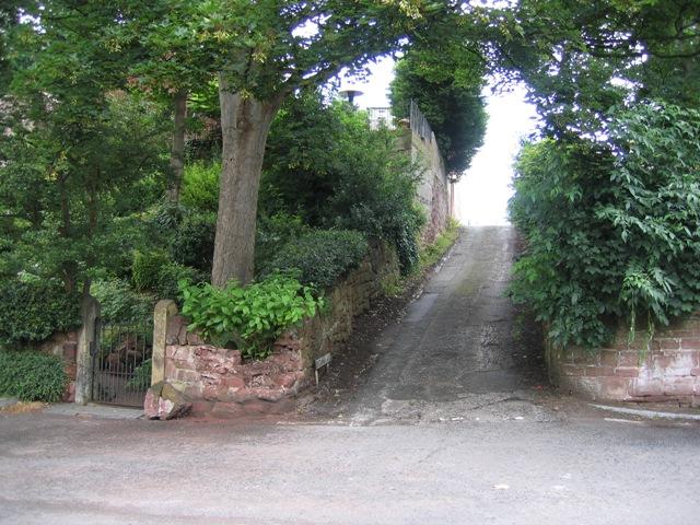 Browns Lane from River Lane