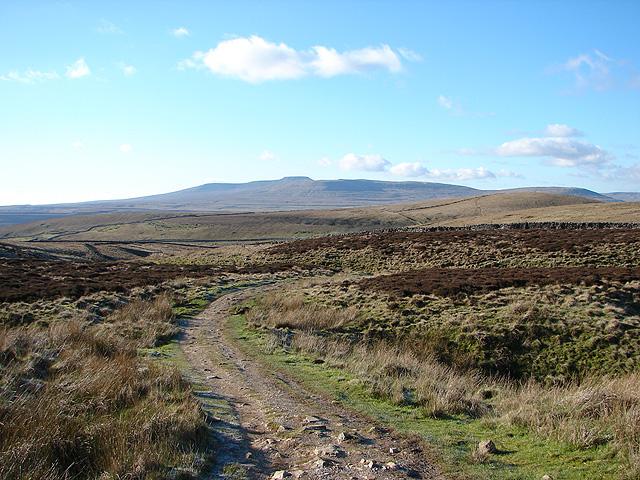The Pennine Way across Horton Moor