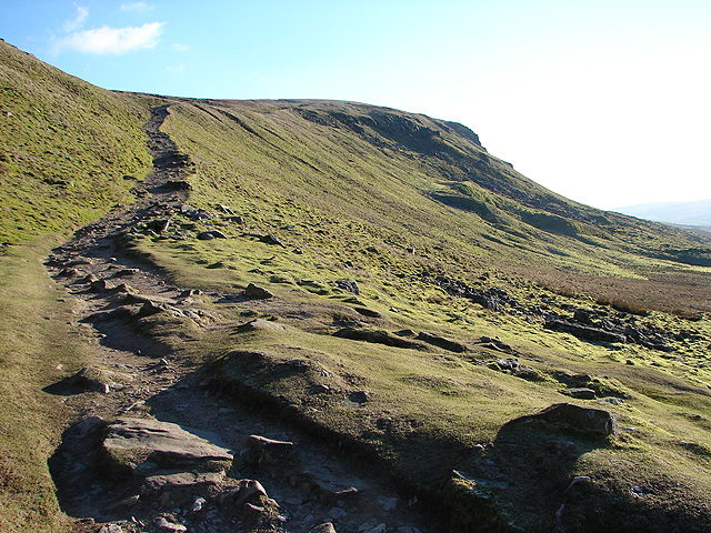 Ascent to Pen-y-ghent