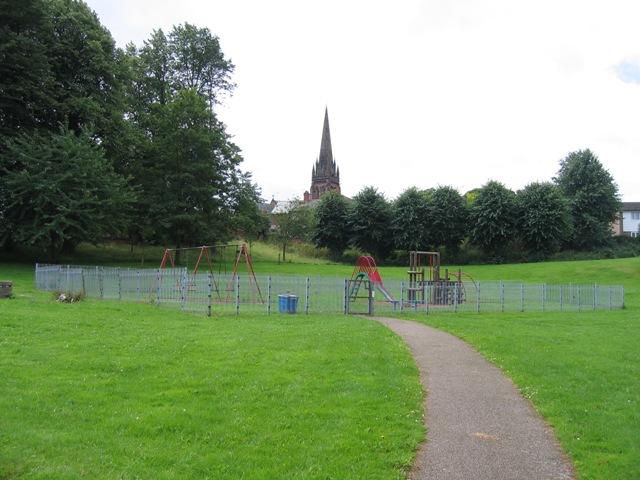 Playground in Edgar's Field