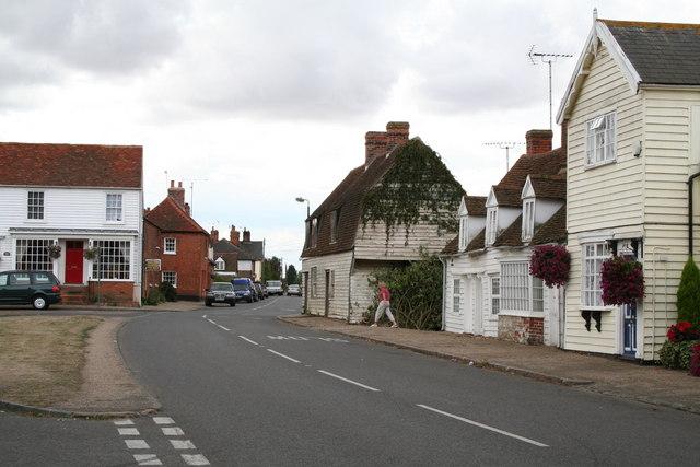 Cottages in Tillingham, Essex