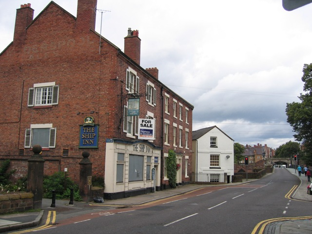The Ship Inn and the Old Dee Bridge