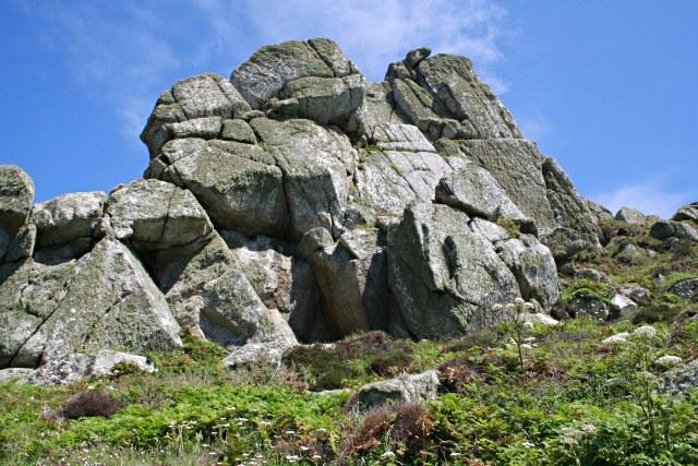 Granite 'Castle' on Nanjulian Cliff